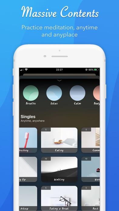 CliGo: meditieren, schlafenScreenshot von 4
