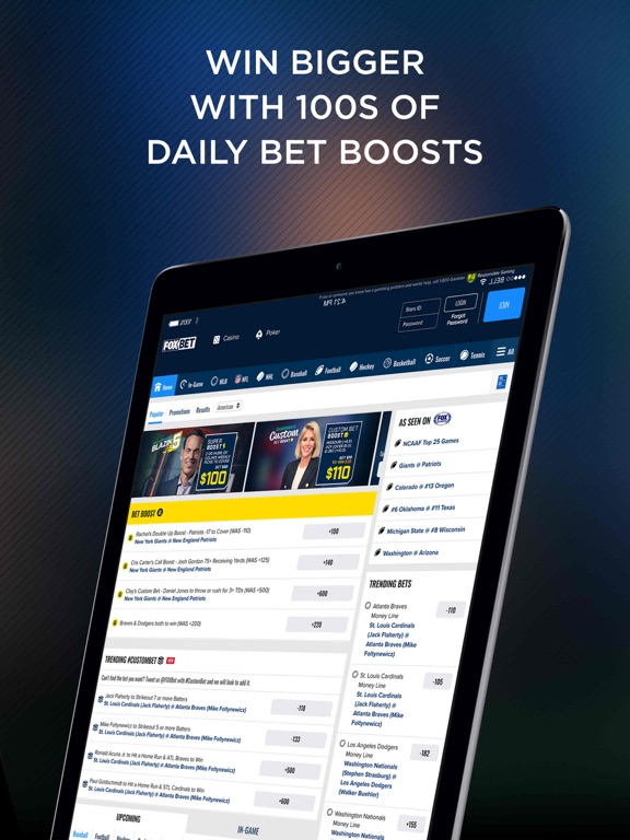 FOX Bet Sportsbook & Casino screenshot 10