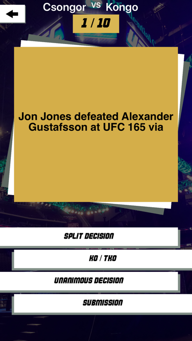 MMA Quest - To Real Fight Fans screenshot two