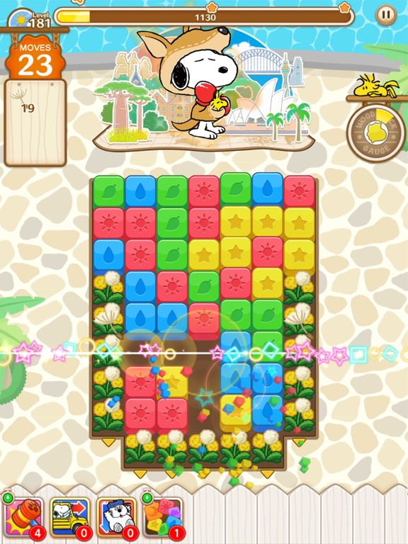 SNOOPY Puzzle Journey screenshot 10