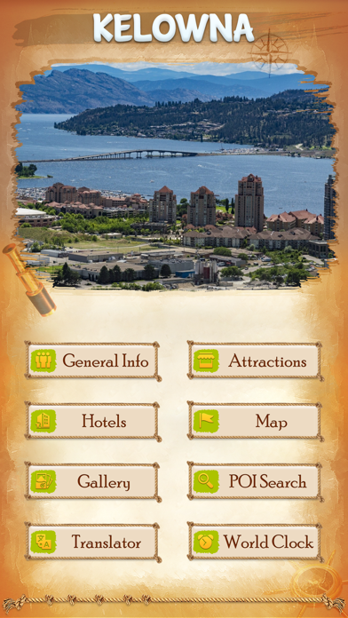 Kelowna City Guide screenshot two