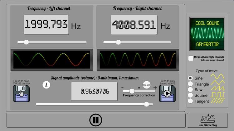 Cool Sound Generator screenshot-0
