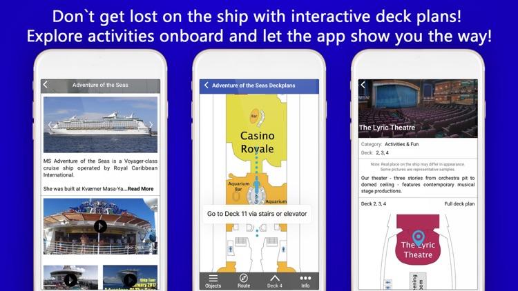 Cruise Itinerary App. CruiseBe screenshot-3