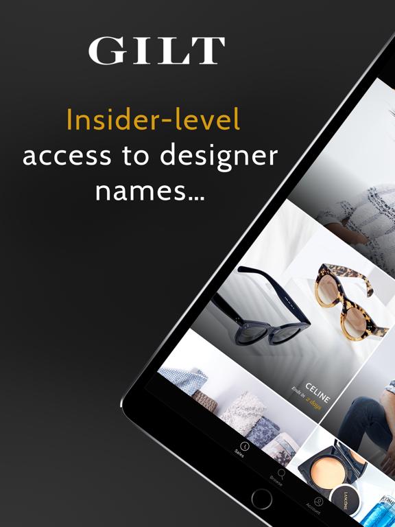 Gilt - Designer Shopping at Insider Prices screenshot