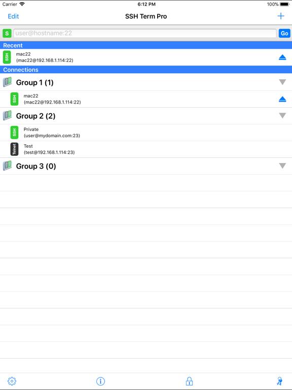 SSH Term Pro Screenshots