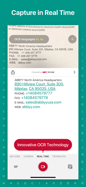 TextGrabber scan and translate Screenshot