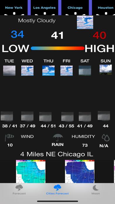 Instant NOAA Weather Forecast screenshot 4