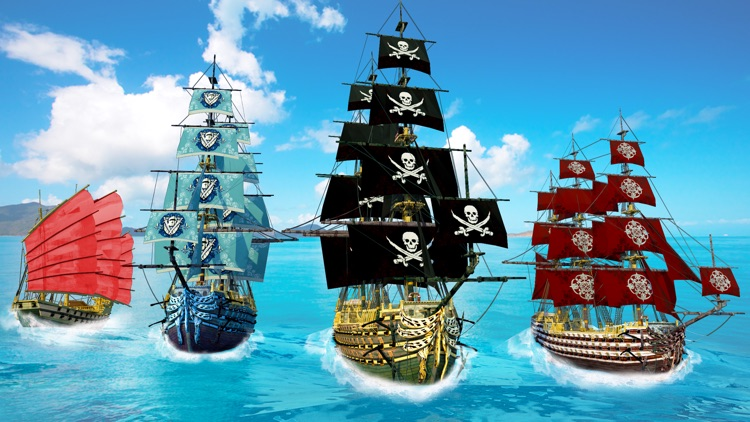 Pirates Ship Battle Simulator screenshot-3