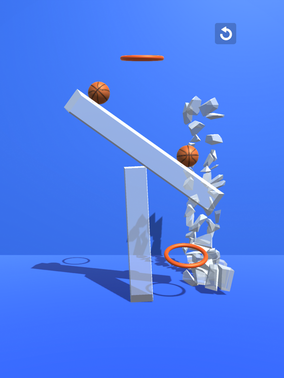 Through the Hoop - Tap & Break screenshot 10