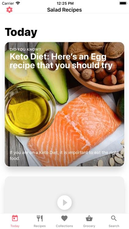 Salad Recipes: Healthy Recipes screenshot-3