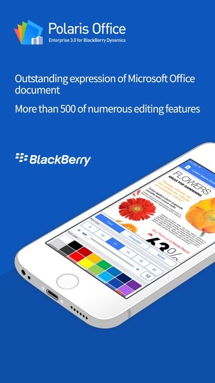 POLARIS Office for BlackBerry screenshot-3