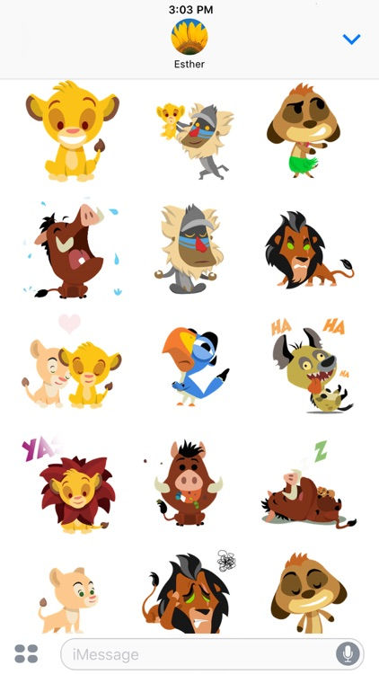 Disney Stickers: The Lion King screenshot-3