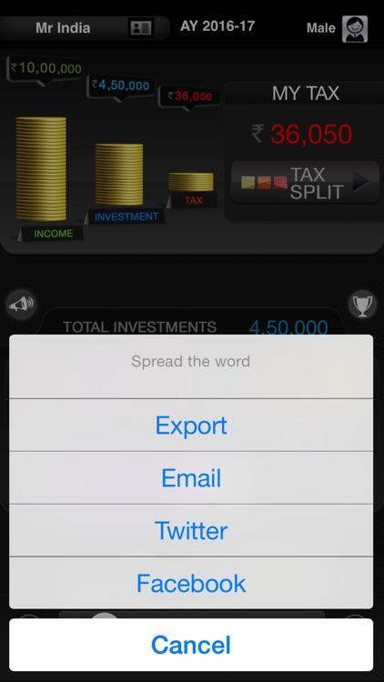 My Tax India screenshot-3