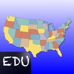 United States Map Quiz Edu Ed.
