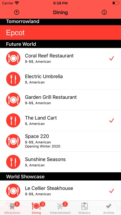 Theme Park Checklist: Bay Lake