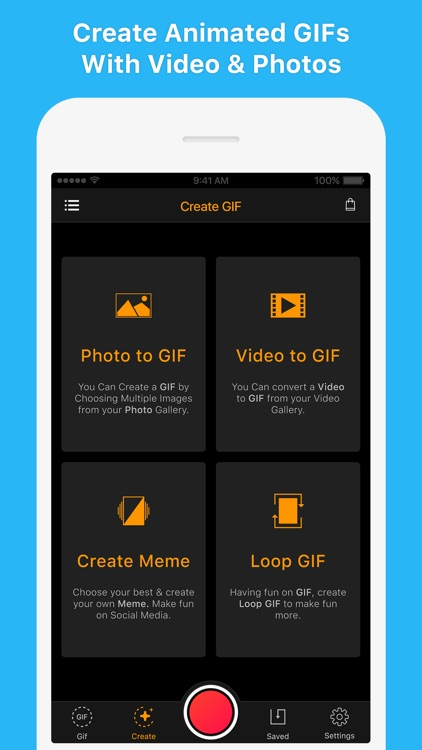 GIF Maker - Make Video to GIFs screenshot-0