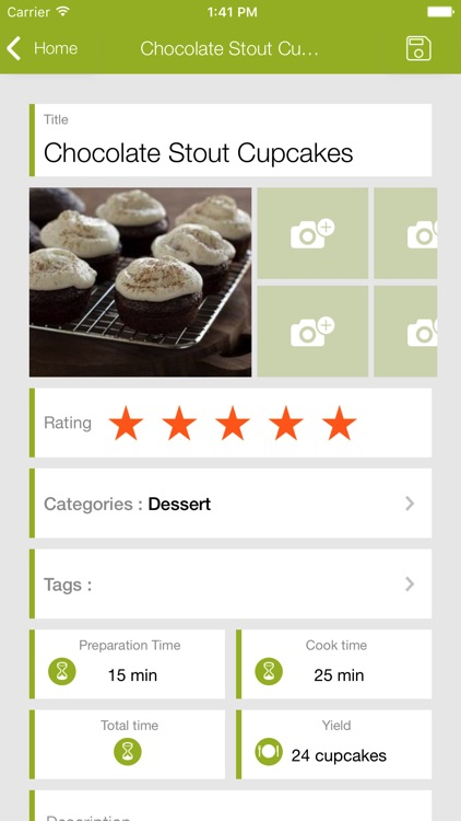 My CookBook (Recipe Manager)
