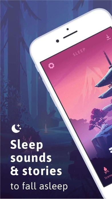 Sleep screenshot one