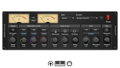 DigiStix Drummer AUv3 Plugin screenshot 1