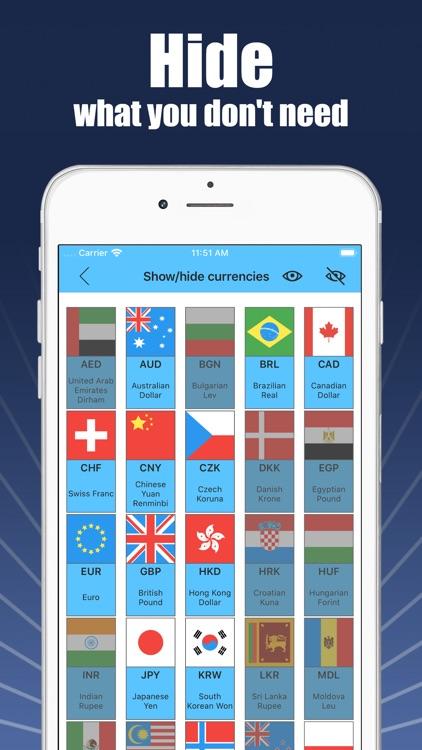 Currencies - money converter screenshot-5