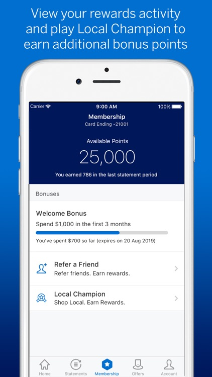 Amex Australia screenshot-5
