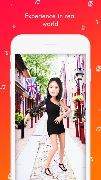 TaDa Time - 3D AR Messenger screenshot-6