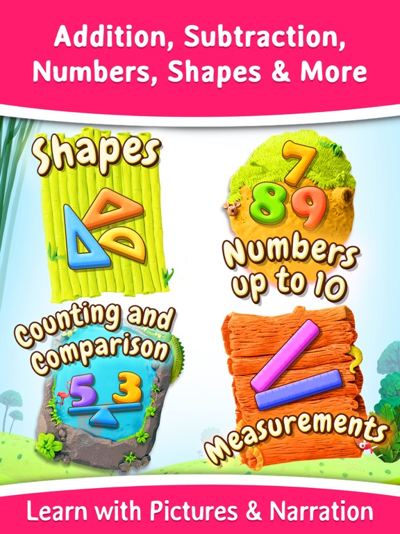 Splash Math Kindergarten: Fun Educational Worksheets for Counting Numbers, Addition, Subtraction and more [Free] screenshot