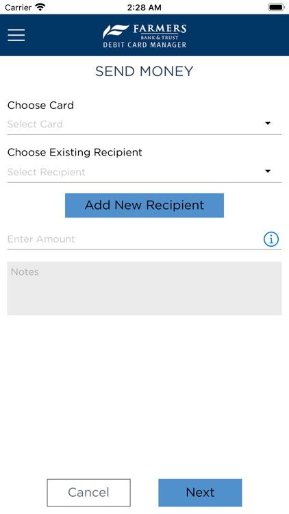 MyFarmers Debit Card Manager screenshot-5