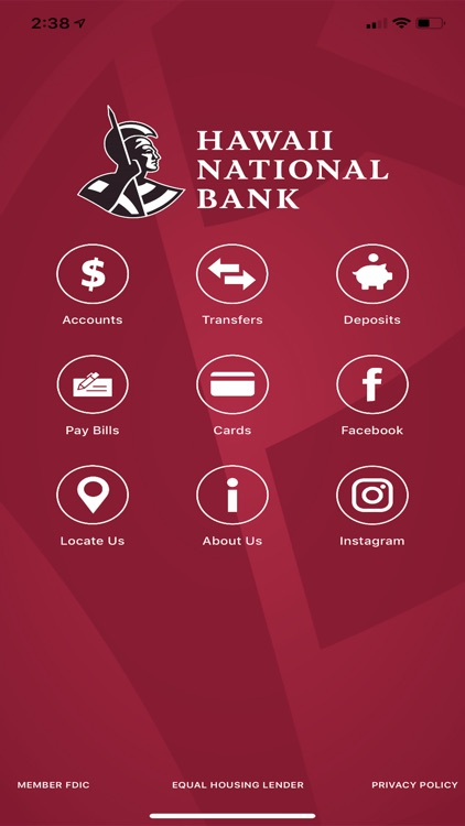 HNB Mobile Banking for iPhone