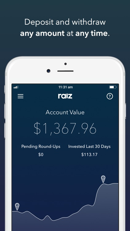 Raiz - Invest The Spare Change