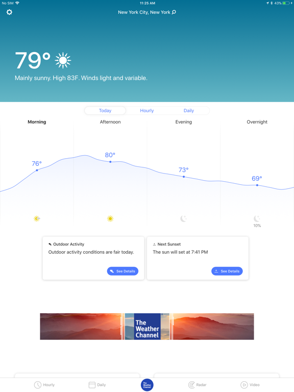 Weather - The Weather Channel-ipad-0