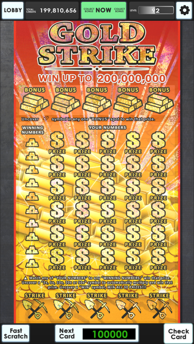 Lucky Lottery Scratchers free Credits hack