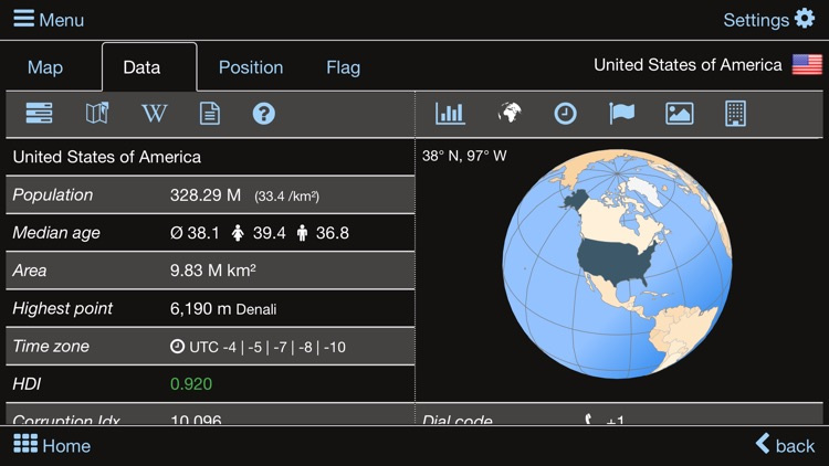 World atlas & map MxGeo Pro screenshot-8