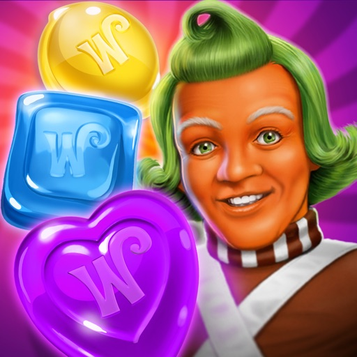 Wonka's World of Candy Match 3 iOS Hack Android Mod