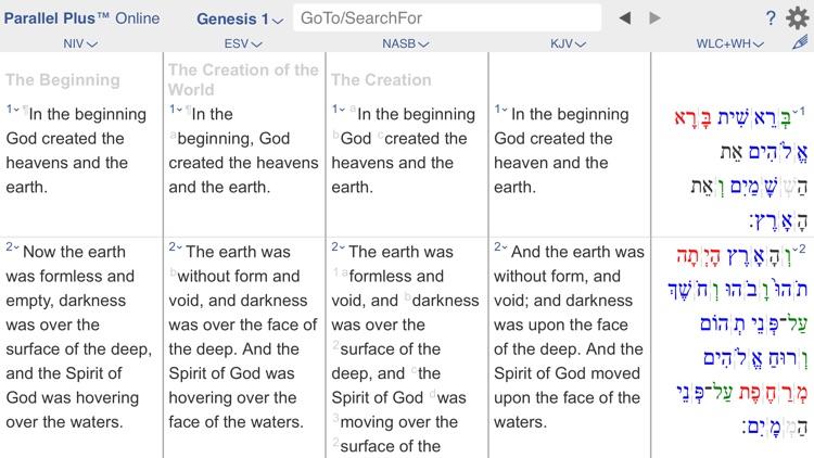 PARALLEL PLUS Bible-study app screenshot-9