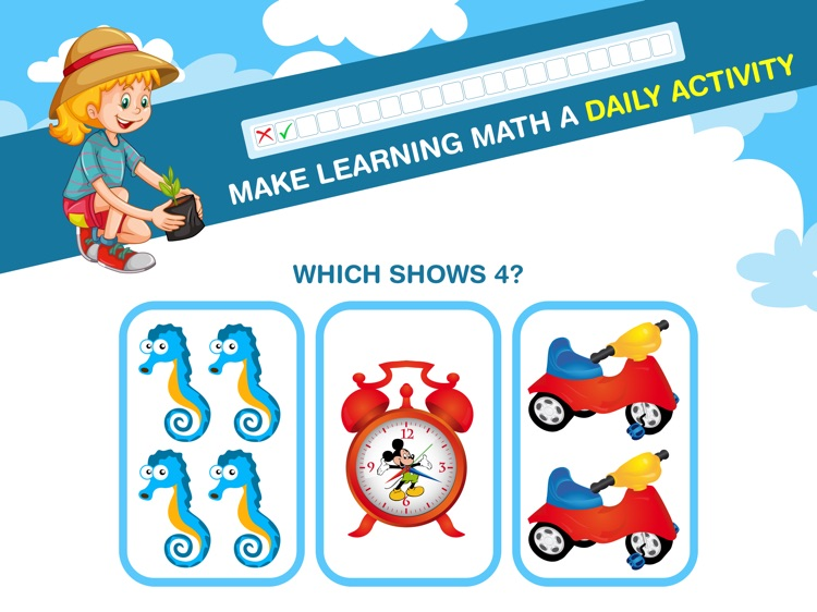 Preschool Kids Math Learning screenshot-3