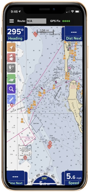 PRO CHARTS - Marine Navigation on the App Store
