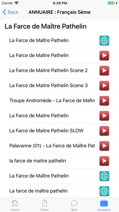 Français 5ème screenshot 7