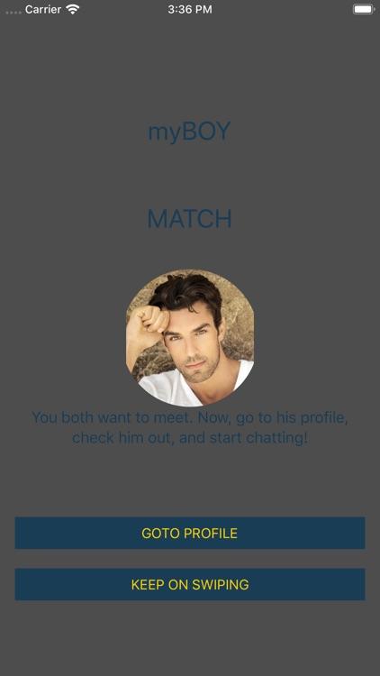 myBOY - Gay Chat & Gay Dating screenshot-4