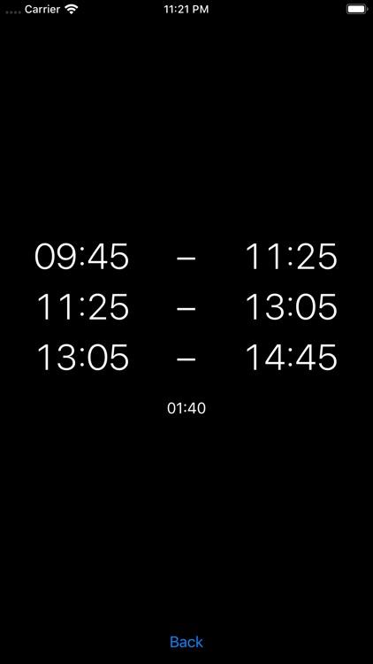 Pausenrechner screenshot-4