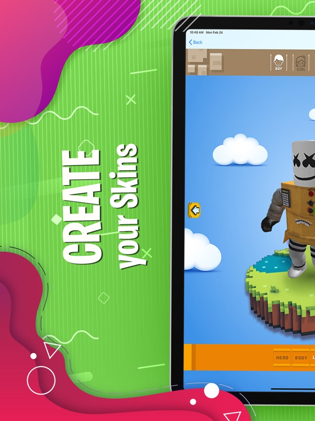 Creator Skin For Roblox Robux On The App Store
