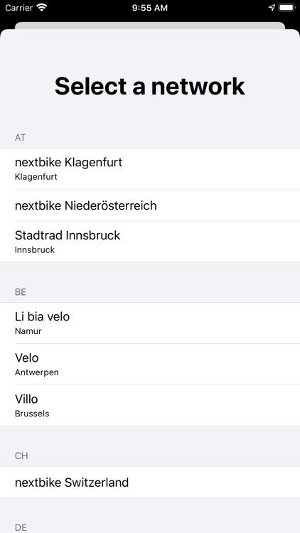 VeloDispo Western Europe screenshot-3