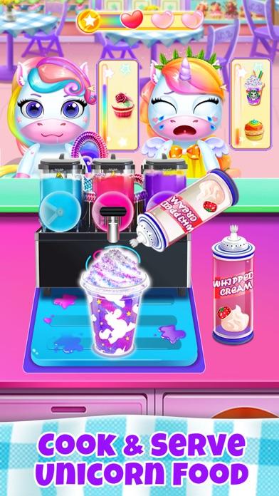 ユニコーンレストラン:フードゲームのおすすめ画像1