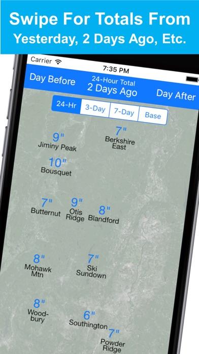 点击获取New England Snow Map