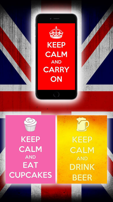 Keep Calm and Carry Onのおすすめ画像1