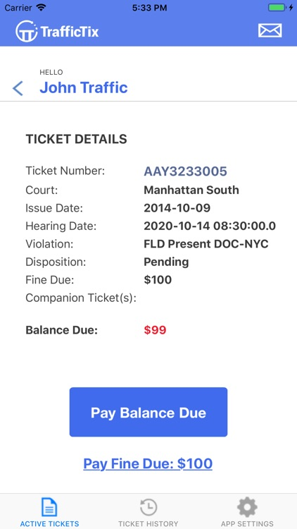 Traffic Ticket Lawyer screenshot-3