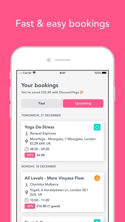 DiscountYoga: Book Nearby Yoga