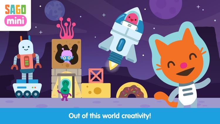 Sago Mini Space Blocks screenshot-3