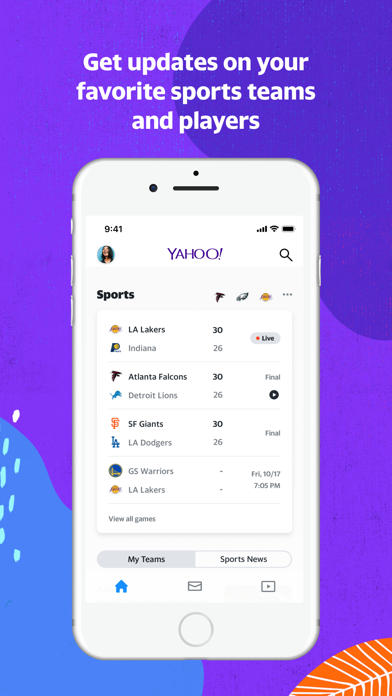Yahoo - News, Mail, Sports app image