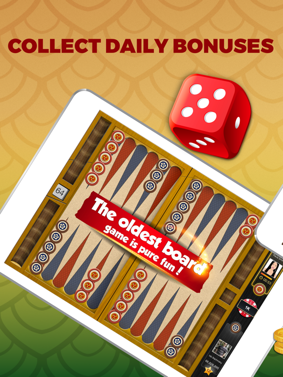 Backgammon PlayGem ­- Multiplayer Backgammon Game screenshot